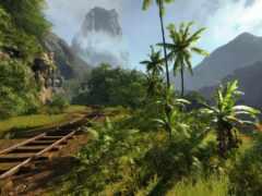tropics, дорога, железная