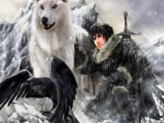 волки, вороны, да