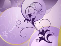 вышивка, purple, схема