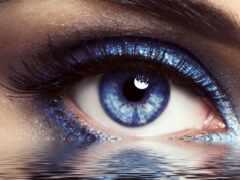 глаз, ресница, макияж