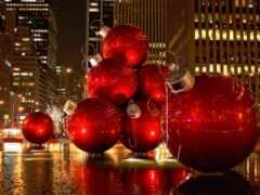нью, york, christmas