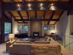 fireplace, room