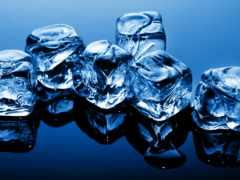лед, льда, кубики