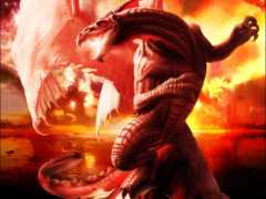 gif, дракон, анимации