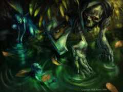fantasy, art, dark