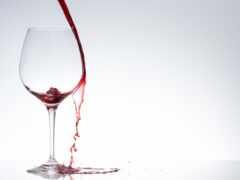 glass, вино, white