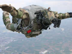 спецназ, парашютный, прыжок