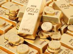 gold, слиток, металл