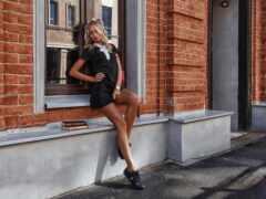 платье, black, little