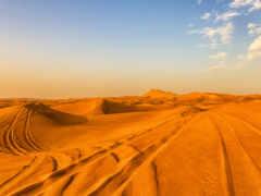 пустыня, песок, dubai