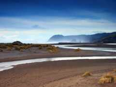 пустыня, море