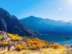china, озеро, turismo