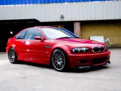 red, bmw e46