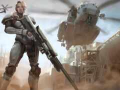 art, солдат, futuristic