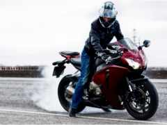 мотоцикл, honda, cbr