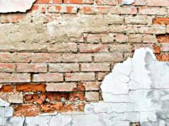 стена, brick, старый