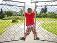 baby, cute, playground