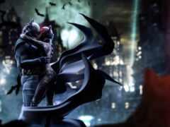 catwoman, batman, поцелуй