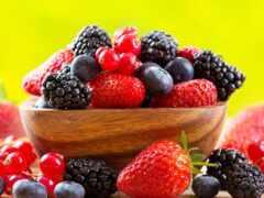 ягода, клубника, смородина