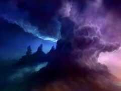 облако, stormy, арта