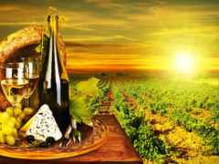 вино, виноград, белое