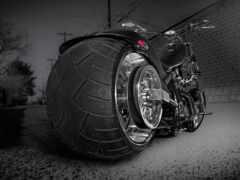 мотоцикл, custom, bike