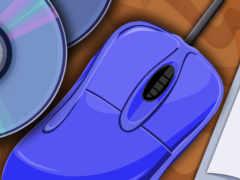 голубая мышь