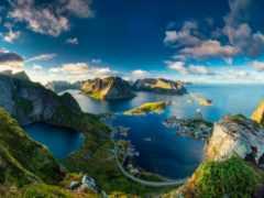 фьорды, норвегии, норвегию