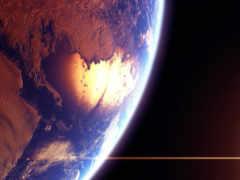 земля вид из космоса Фон № 103557 разрешение 1920x1080
