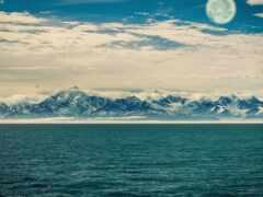 аляска, glacier