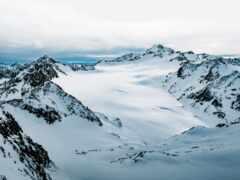 гора, snowy, ноутбук