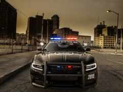 dodge, charger, police