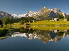tapety, гора, природа