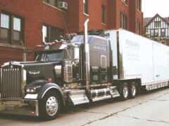 truck, американский, kenworth