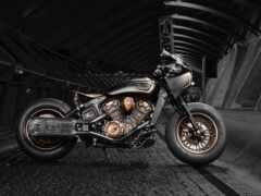 indian, мотоцикл, боб