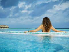 swimming, бассейн, maldives
