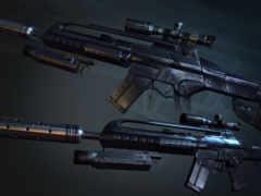crysis, оружие, оружия