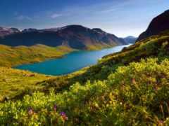 norwegian, природа, норвегии