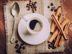 coffee, cup, блюдце