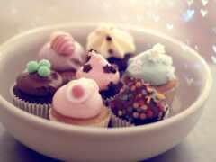 пирожные, десерт, табличка