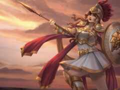 athena, воин, goddess
