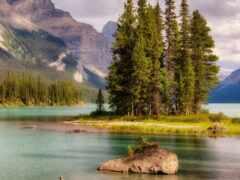 озеро, канада, oir