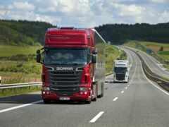 scania, truck, wagon