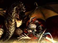дракон, рыцарь, dragons