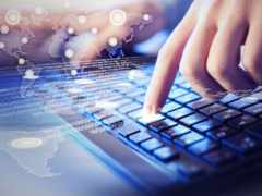 клавиатура, руки, компьютеры