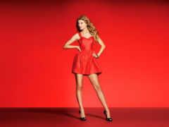 платье, красном, снится