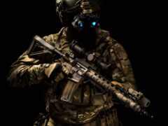 солдат, техника, шлем