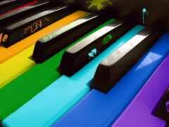 ключ, piano