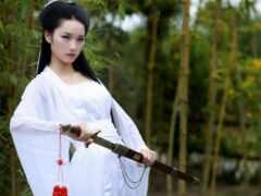 традиционный, china, женщина
