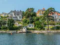 stockholm, sweden, побережье